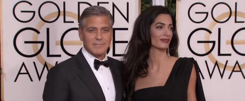 George & Amal Clooney's twins already receiving gifts..