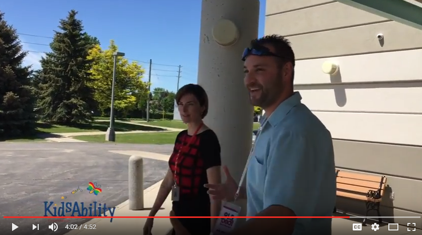 Rob Daniels tours Kidsability in Waterloo ahead of the Rob Daniels Patio Party LIVE broadcasts from Borealis.