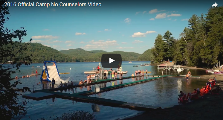 Summer camp for adults is actually a THING! WATCH