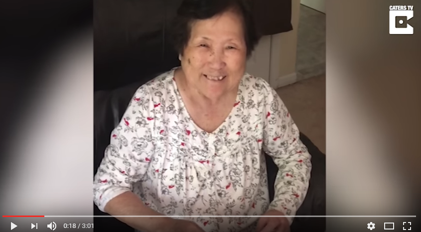 Pregnant daughter shares the news with her Mom suffering from Alzheimer's, over & over again