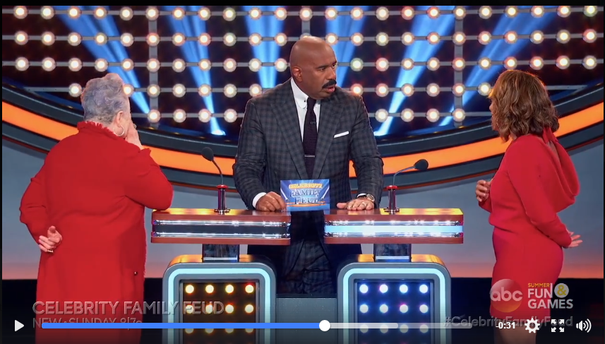 Steve Harvey's Wife Has Hilarious Answer To Family Feud Question - WATCH