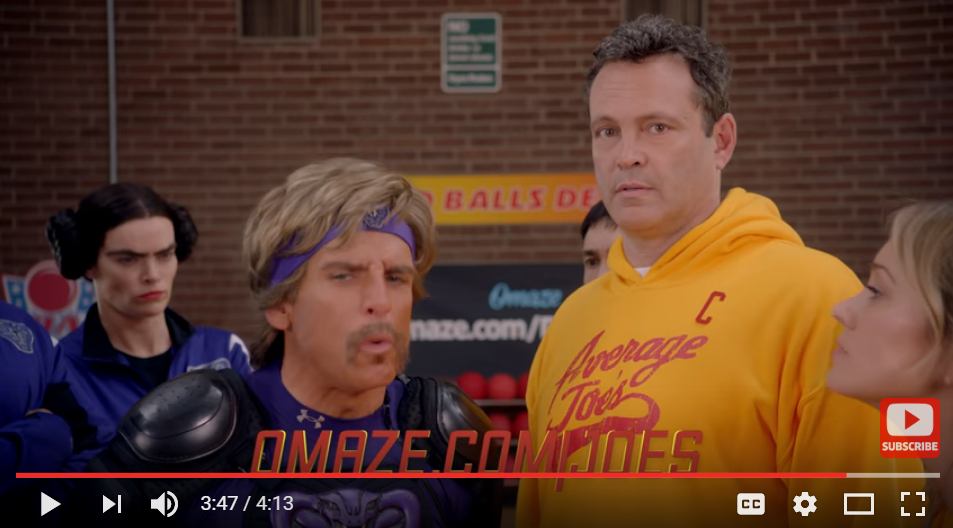 Stop Everything! You Have A Chance To Dip, Dodge, Duck, Dive, & Dodge With Globo Gym And The Average Joe's - WATCH