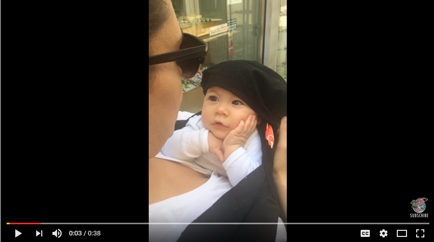 Baby Adorably Stunned By Mother Singing - WATCH