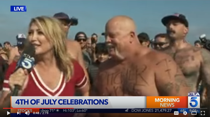 Did a reporter get vomited on LIVE ON TV?!? WATCH