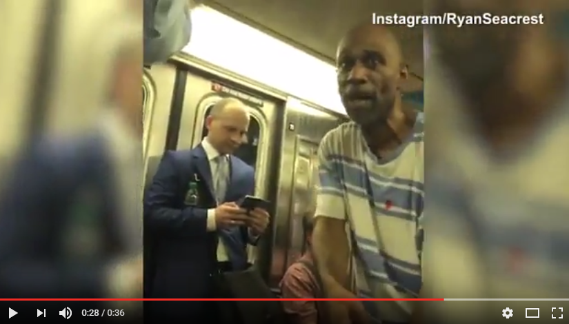 Ryan Seacrest may have found the next American Idol on the subway in New York! WATCH