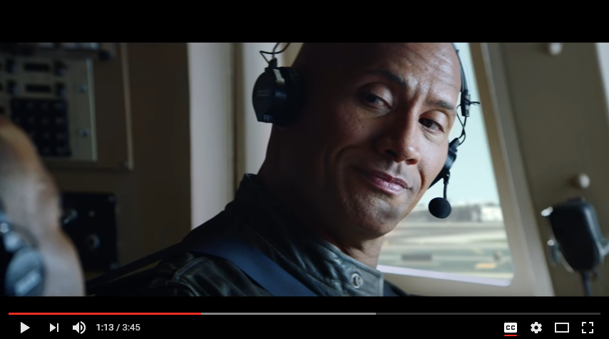 "Dwayne The Rock Johnson's new ""movie"" with Siri. WATCH"
