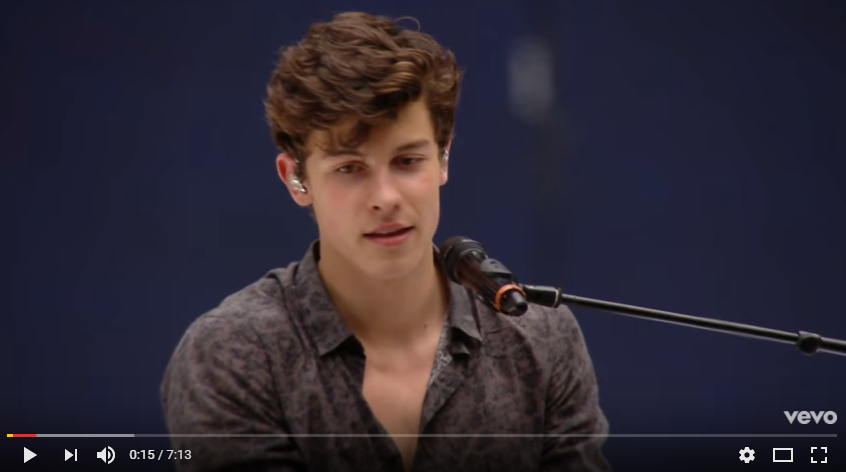 "Shawn Mendes covers Ed Sheeran's ""Castle On The Hill"" at Wembley Stadium in London. WATCH/LISTEN"