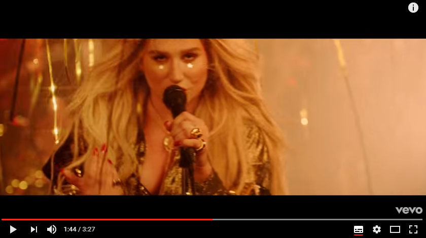 "Kesha drops official video for ""Woman"". WATCH"