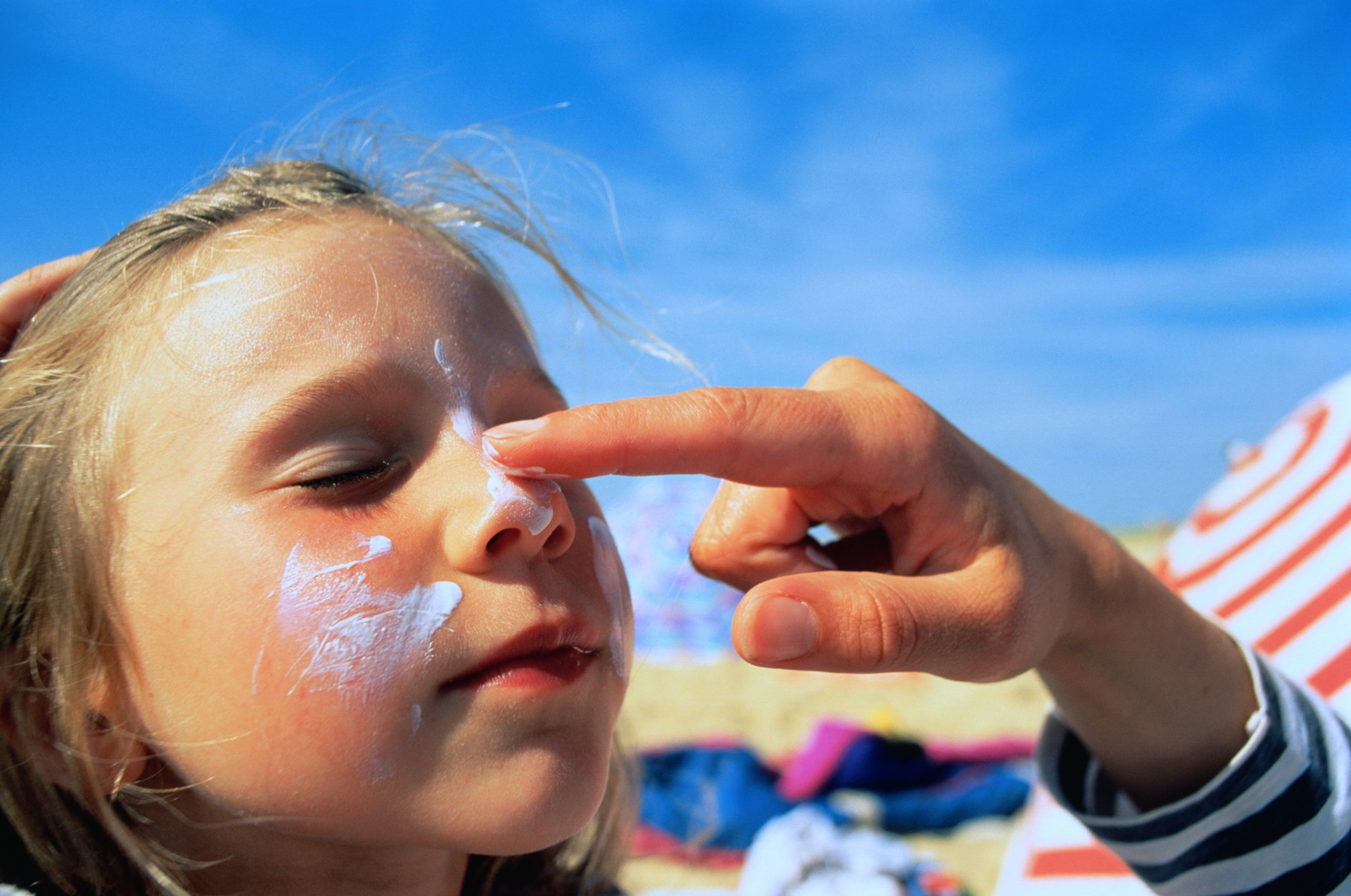 The Two Spots on Your Face You're Most Likely to Miss with Sunblock