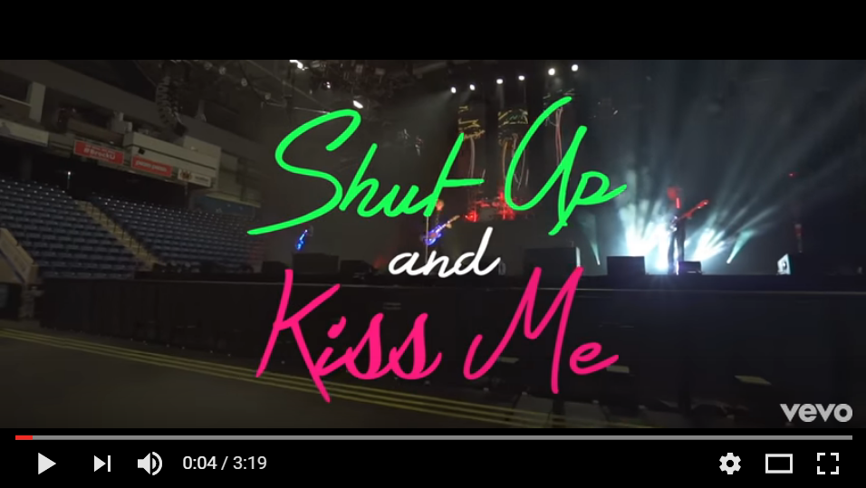 "**NEW** Music From Marianas Trench ""Shut Up And Kiss Me"" - WATCH"