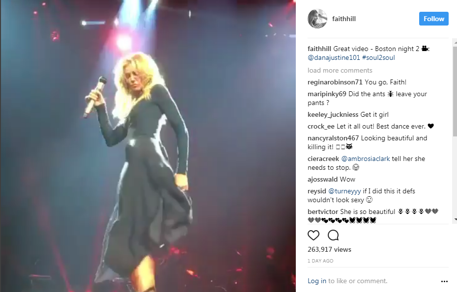 Faith Hill Turns 50 This Year And She Can Dance Better Than You - WATCH
