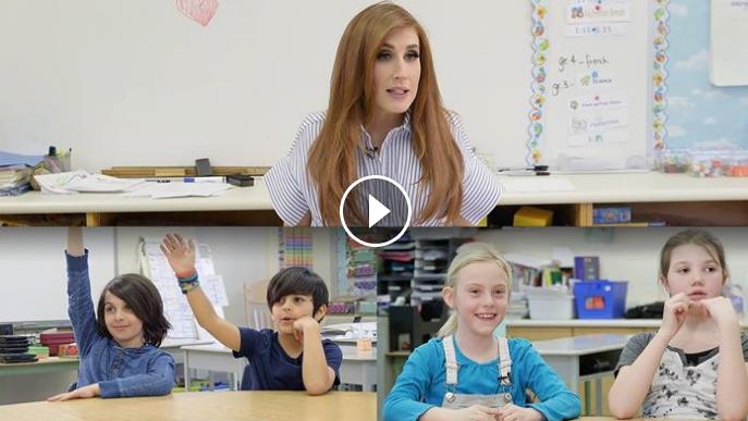 The Wonderful Jessi Cruickshank Gets Pregnancy Advice From Kids - WATCH