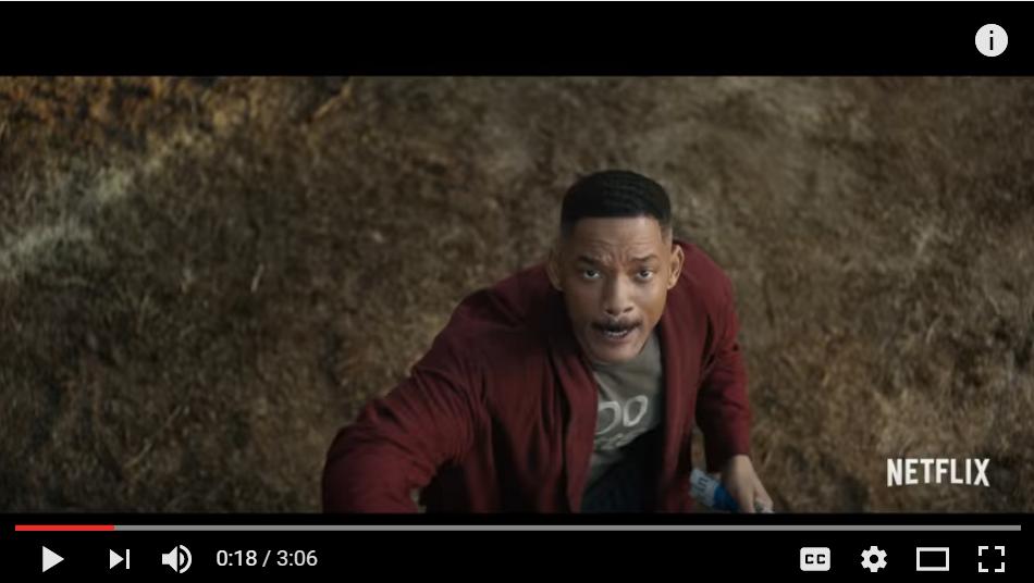 Magical Netflix Multi-Million Dollar Movie 'BRIGHT' Starring Will Smith Finally Has A Trailer - WATCH