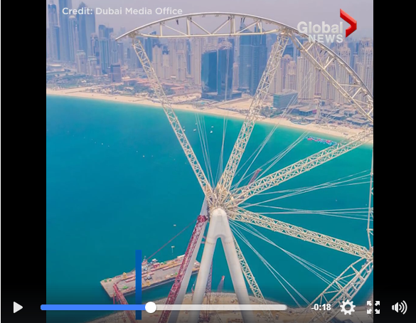 Would You Ride The Worlds Largest Ferris Wheel?? - WATCH