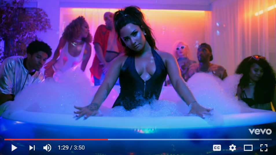 Demi Lovato Slays In New Video For 'Sorry Not Sorry' - WATCH
