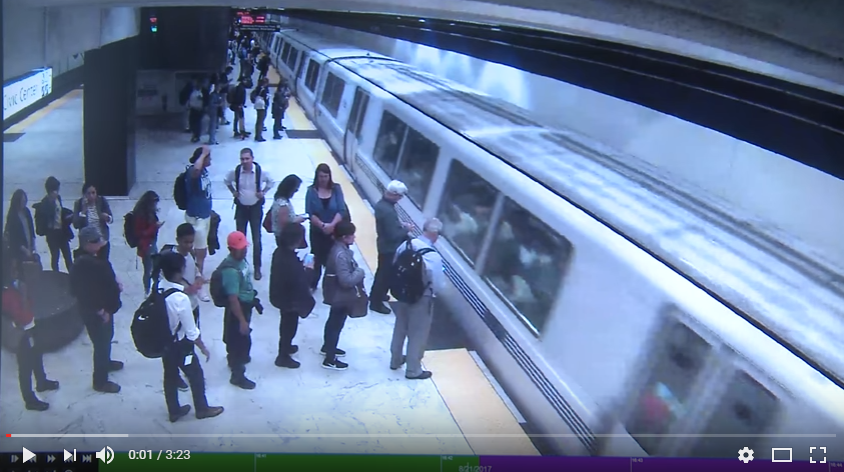 Subway Riders Save a Guy Lying Across the Tracks. WATCH