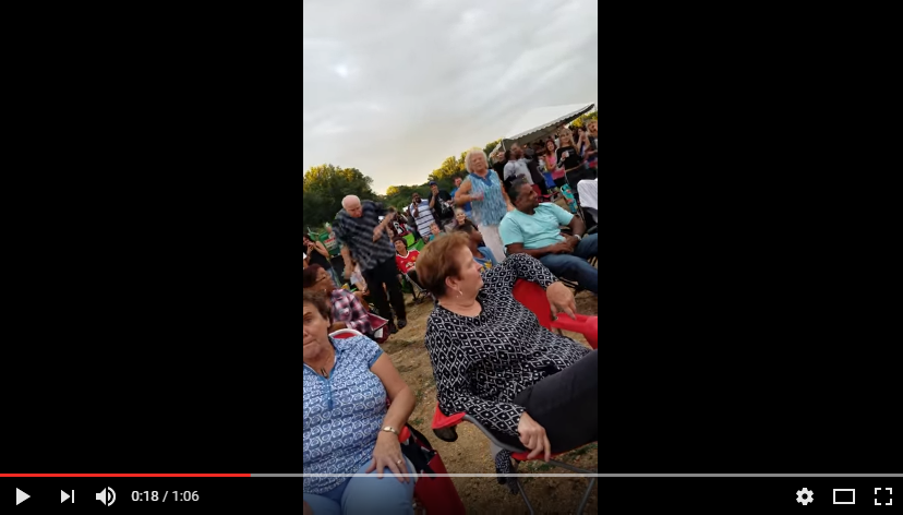 A Senior Citizen Couple Is Cheered On While Dancing at a Ludacris Concert. WATCH