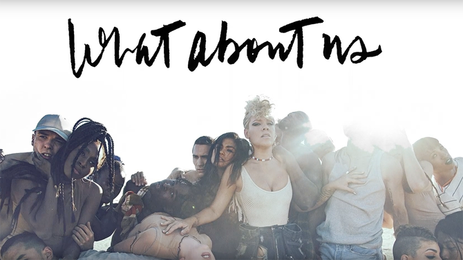"P!NK is back with a new song ""What About Us"" [LISTEN]"