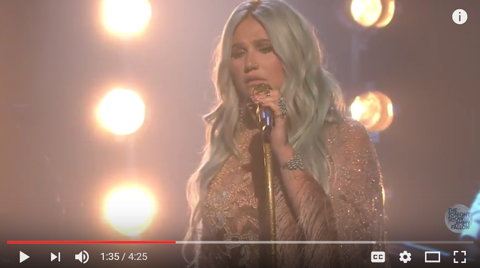 Kesha Is Officially Back With New Music And A Live Performance - WATCH
