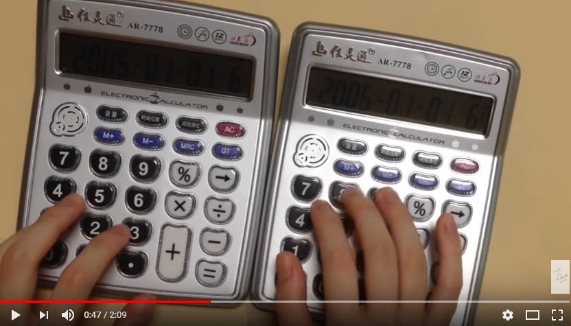 "Someone plays ""Despacito"" on two calculators. WATCH/LISTEN"