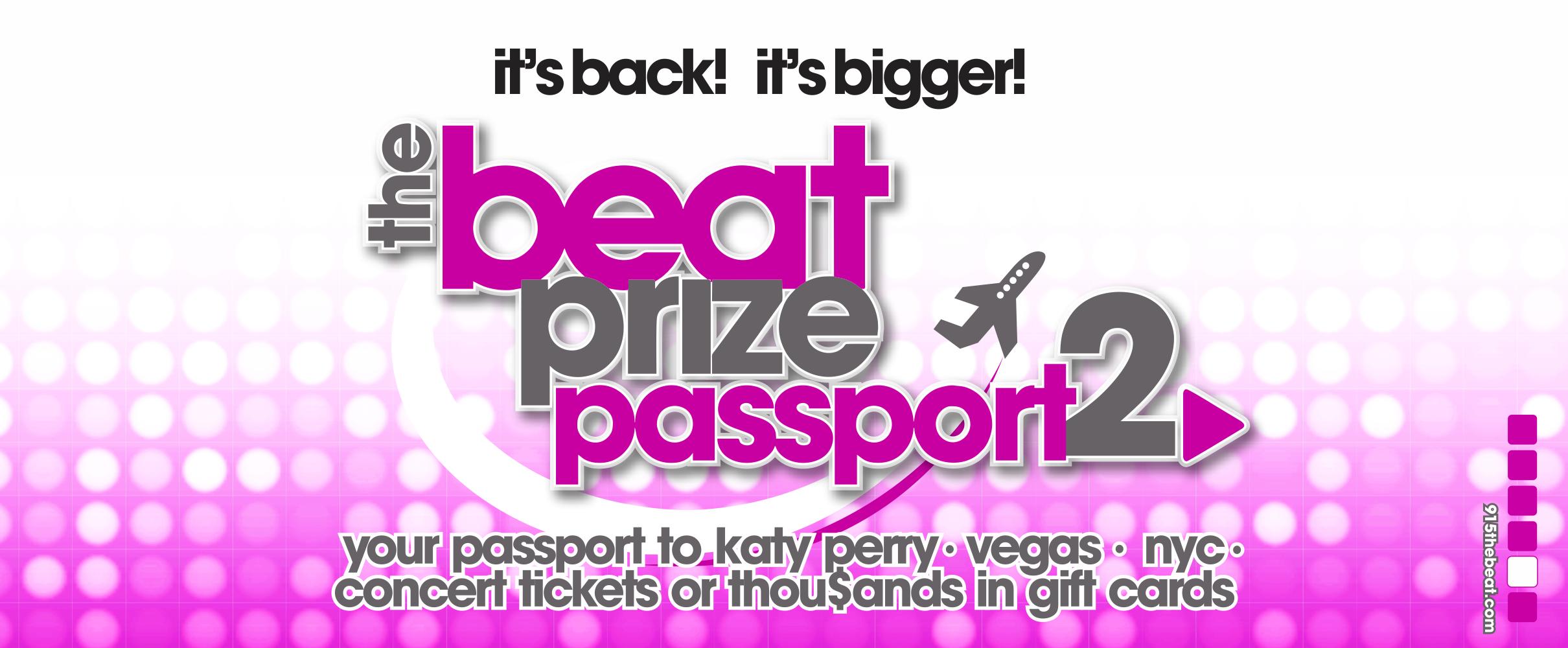 The Beat Prize Passport 2!
