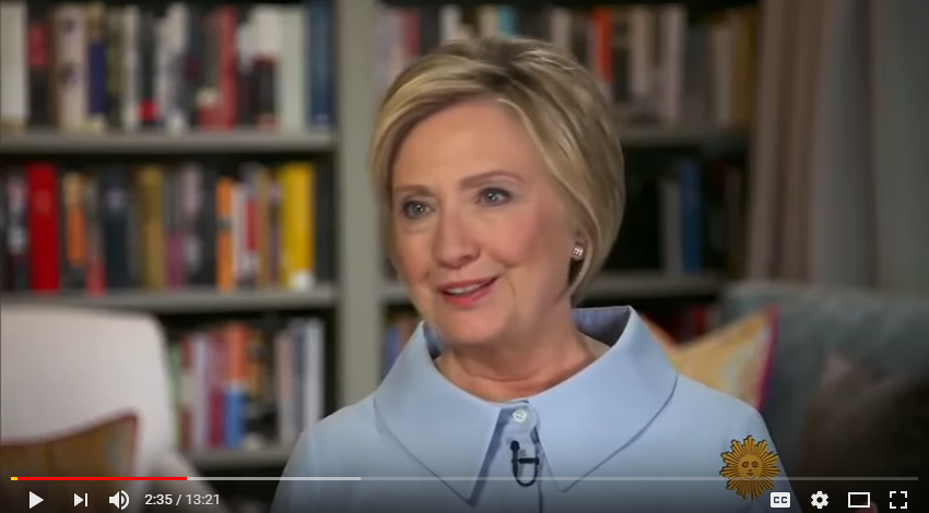 Hillary Clinton drank a lot of Chardonnay after she lost the election [WATCH]