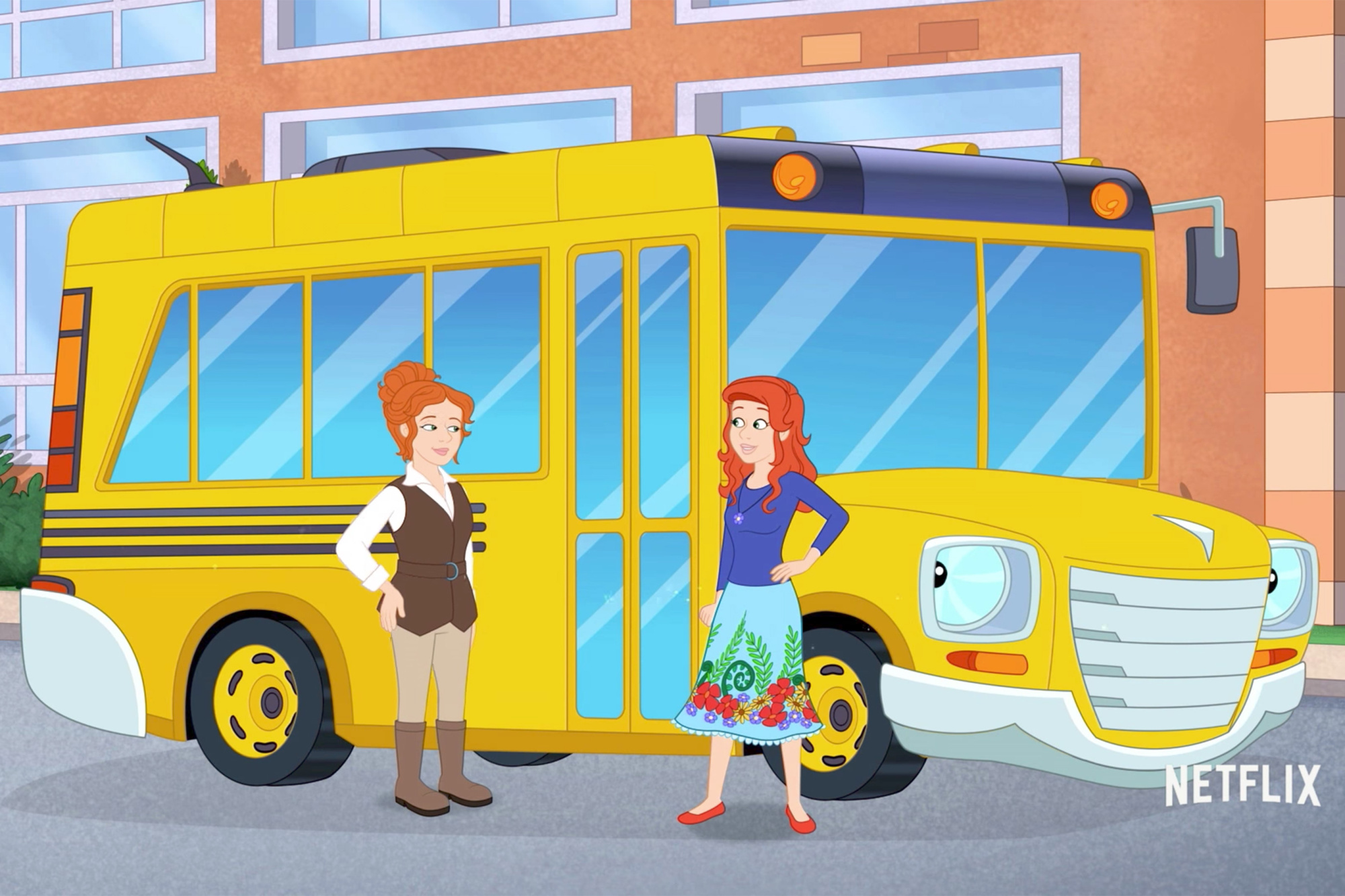 """The trailer for the NEW """"MAGIC SCHOOL BUS"""" is here!"""