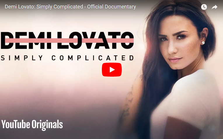 """Demi Lovato's documentary """"Simply Complicated"""" has arrived. WATCH/LISTEN"""