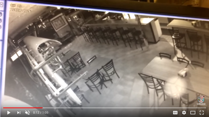 Is this restaurant haunted? WATCH