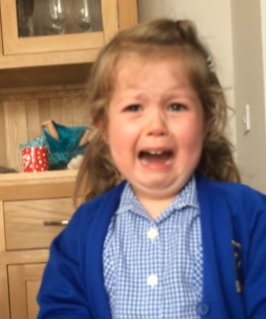 WATCH:Little girl is DEVASTATED to find out she's having a baby brother