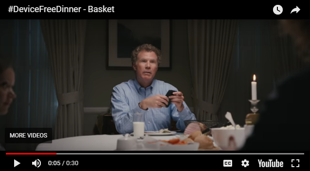 Will Ferrell Plays A Horrible Father In These PSAs #DeviceFreeDinner