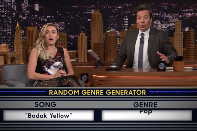 [WATCH] Miley Cyrus vs. Jimmy Fallon in Musical Genre Challenge