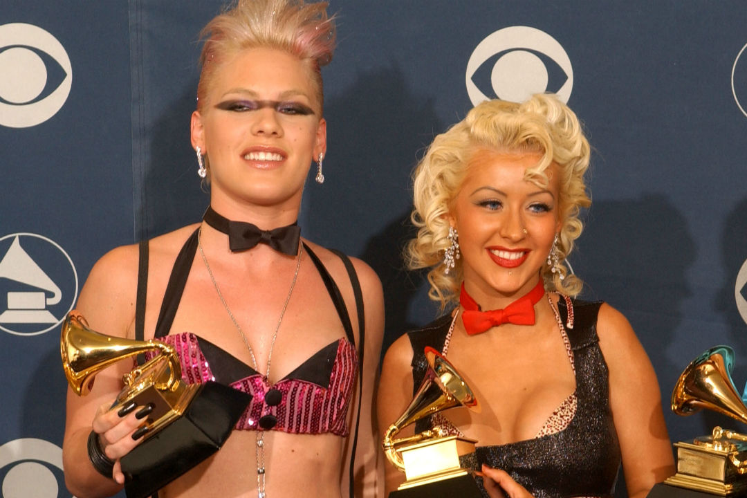 Did P!NK just confirm a CHRISTINA AGUILERA collaboration? [WATCH]