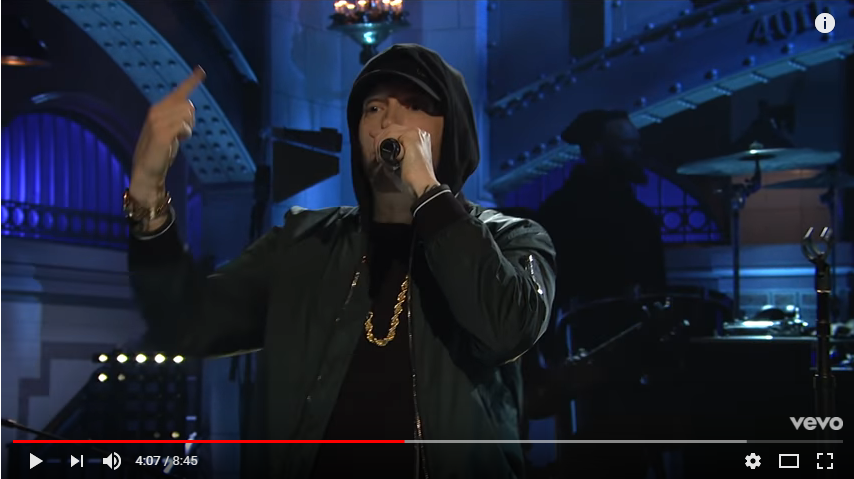 Eminem performed on SNL over the weekend. In case you missed it, WATCH