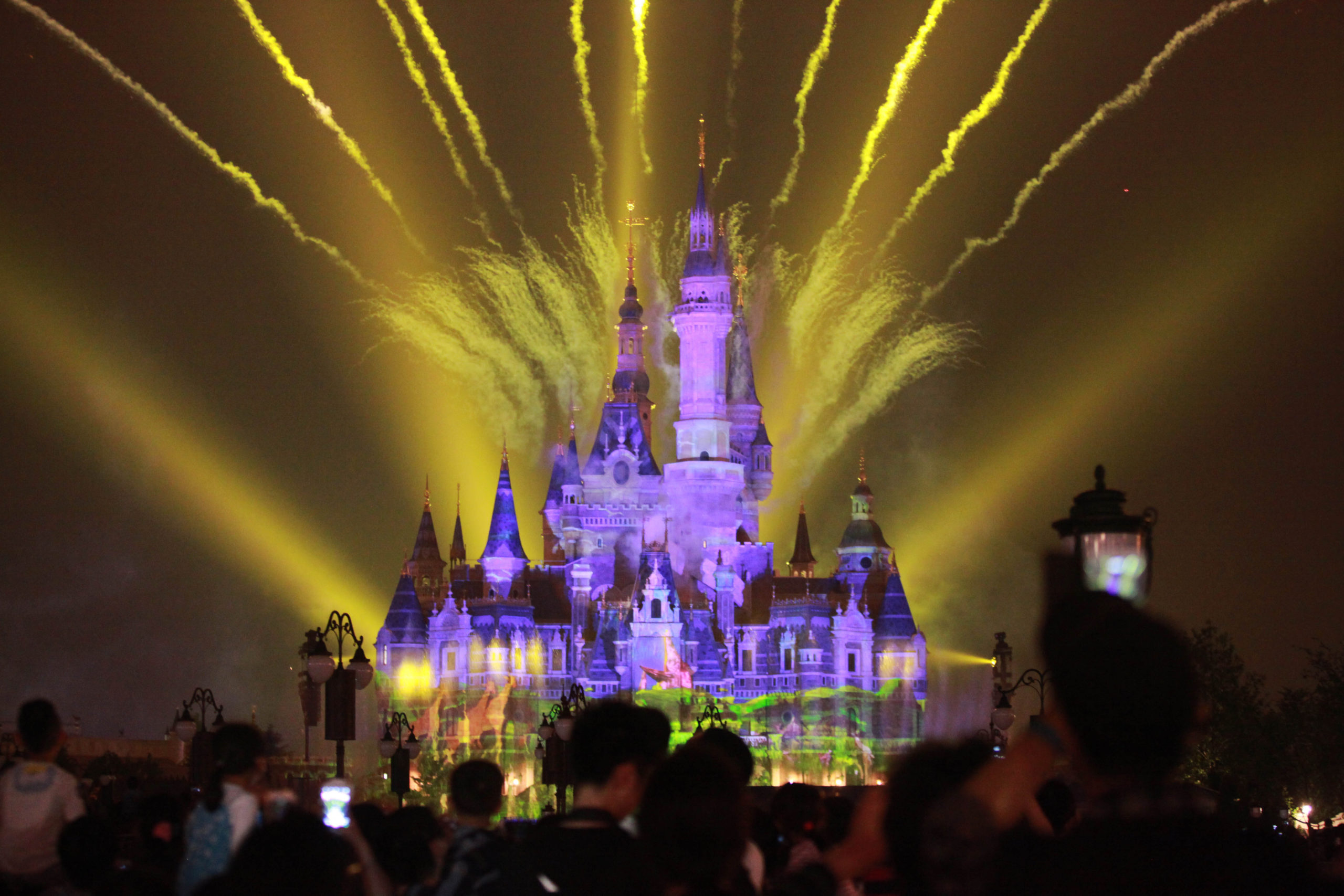 Disney's research department has been working on a new type of fireworks...