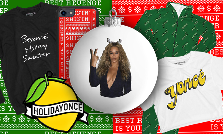 "BEYONCE ""Slays"" With Her 2017 Holiday Collection"