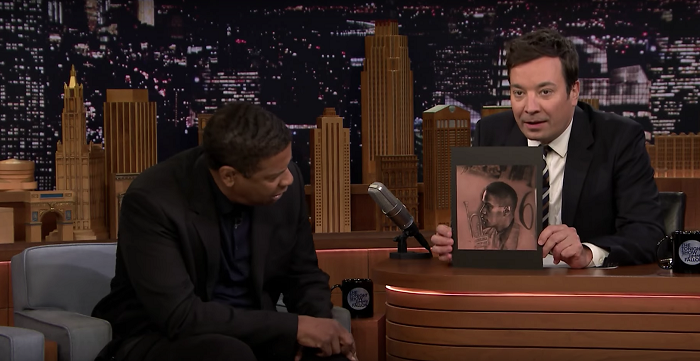 """What does DENZEL think about Drake's """"Denzel Tattoo"""" [WATCH]"""