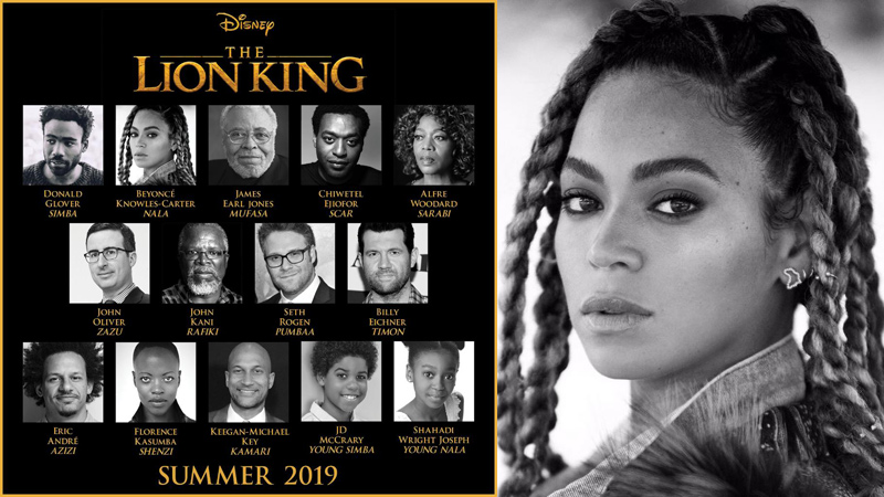 "WOW...Check out ""The Lion King' Live-Action Adaptation CAST!"