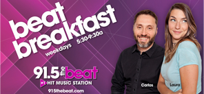 The Beat Breakfast with Carlos and Laura