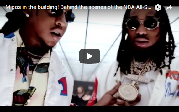 """Migos appear in """"NBA On TNT"""" 2018 All-Star Game Promotional clip. WATCH"""