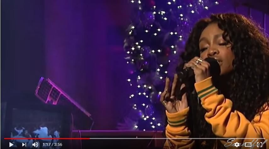 SZA performed on SNL! WATCH/LISTEN