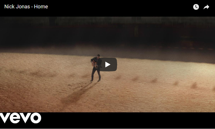 "Wanna see the video for Nick Jonas' Golden Globe nominated song ""Home""? WATCH"