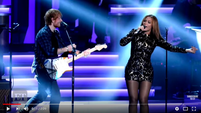 Ed Sheeran talks working with Beyonce, reveals Christmas gift for girlfriend. WATCH/LISTEN