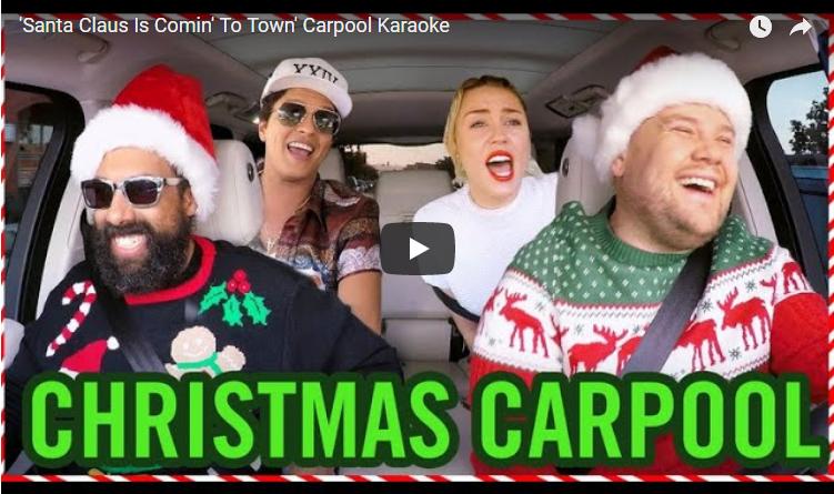Wanna see James Corden get a Christmas kiss from Harry Styles? New carpool karaoke. WATCH
