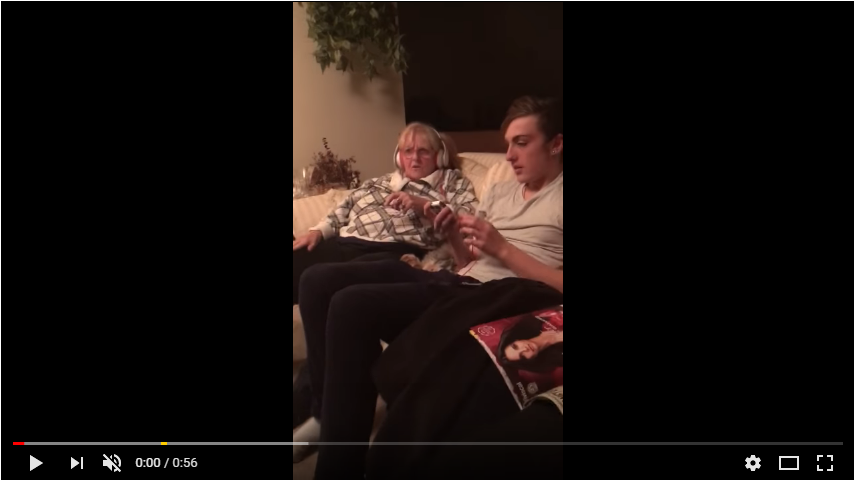 "A Grandmother Raps to ""99 Problems"". WATCH/LISTEN"