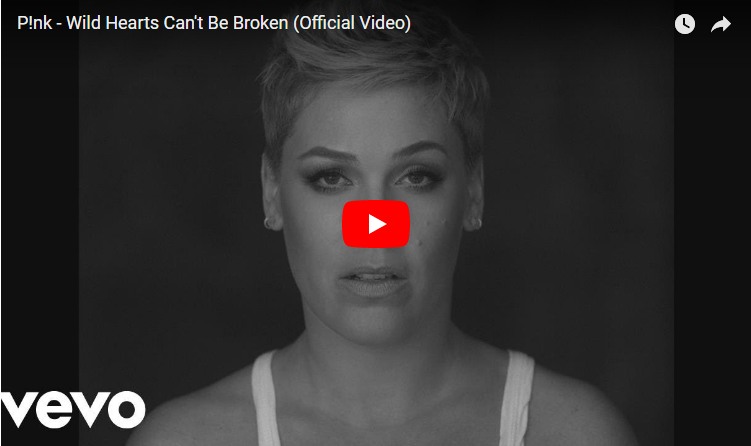 """Pink releases """"Wild Hearts Can't Be Broken"""" video and it's raw & real. WATCH"""