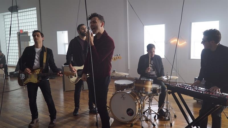102.7 The PEAK Chatting With Arkells on Morning Report