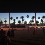 Coachella at dusk