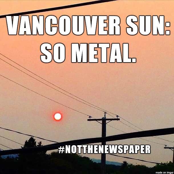 Vancouver Sun: So Metal