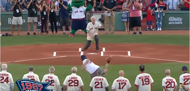 WATCH: Photographer Gets Hit in Groin During First Pitch